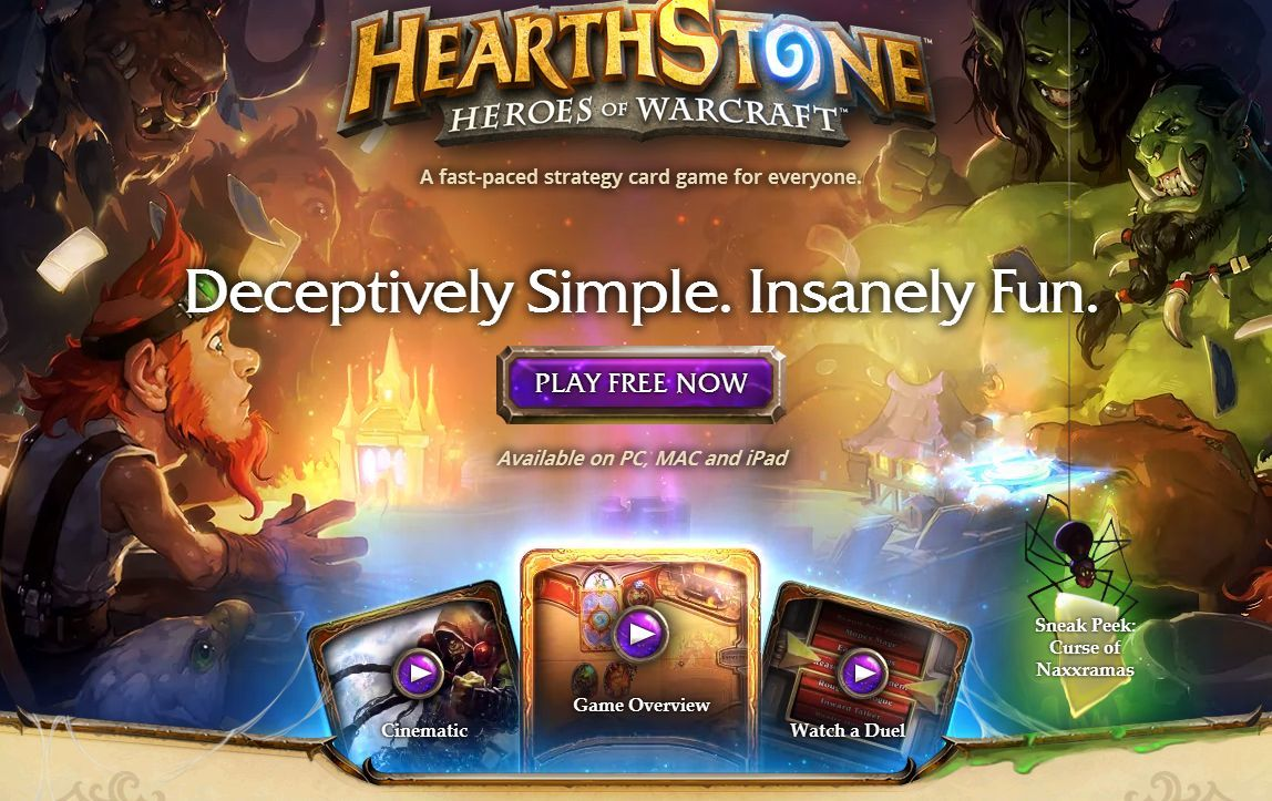 Hearthstone is deceptively simple.