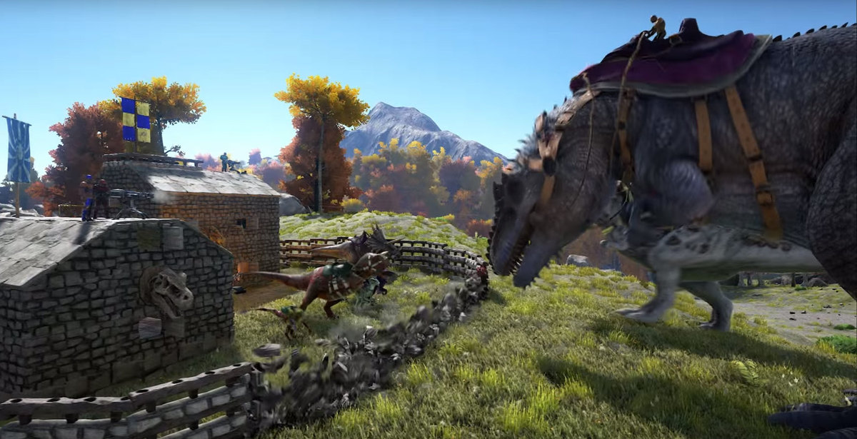 Ark How High To Build Walls To Keep Giga Out