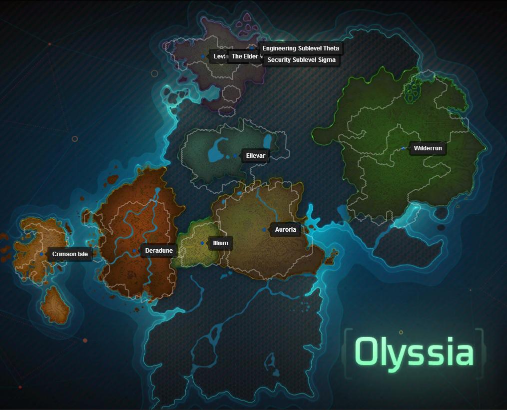 Ten Ton Hammer Wildstar Dominion Leveling Zones