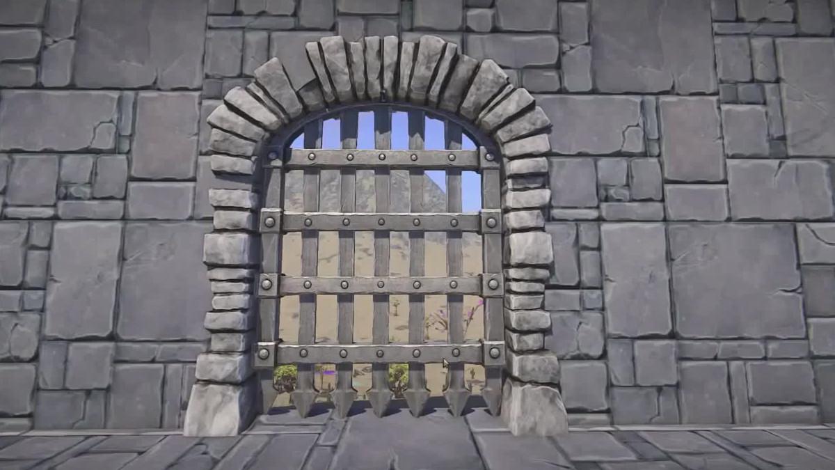 landmark iron portcullis