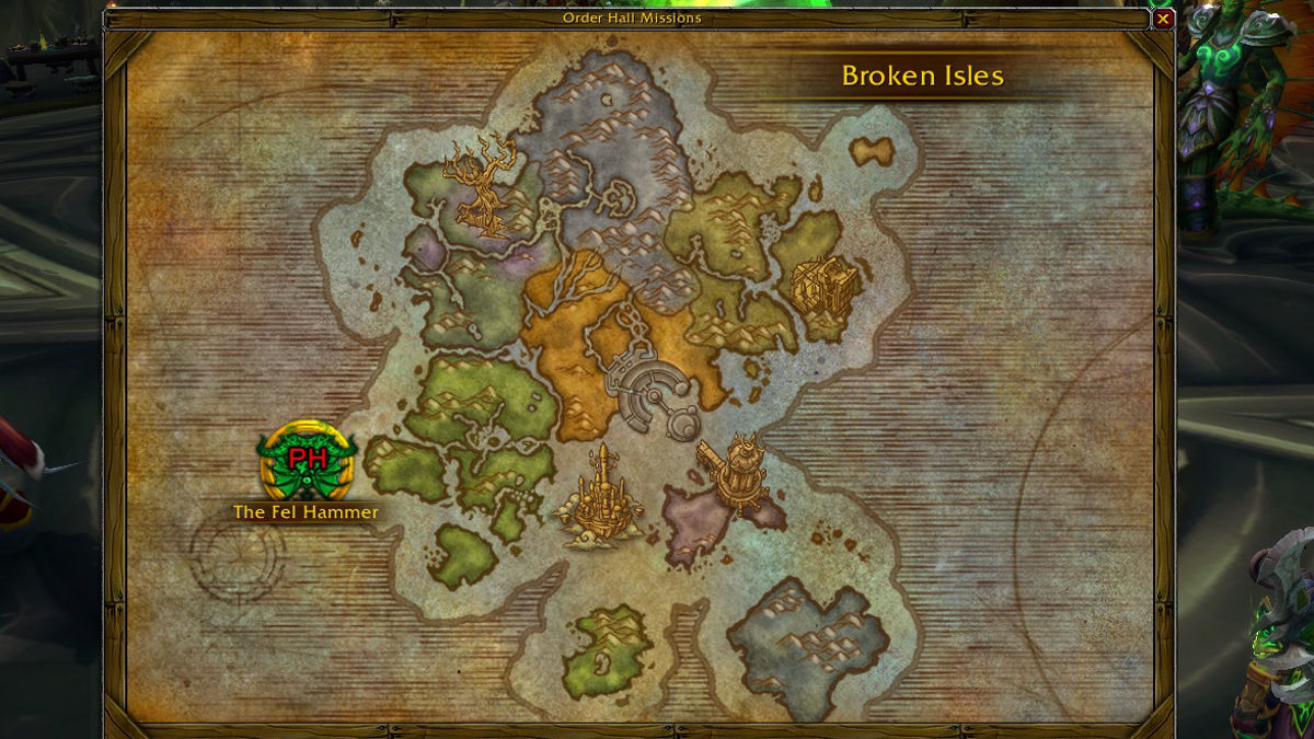Ten ton hammer guide to legion class order hall missions please check back for more information as the world of warcraft legion alpha continues and more missions become available gumiabroncs Images