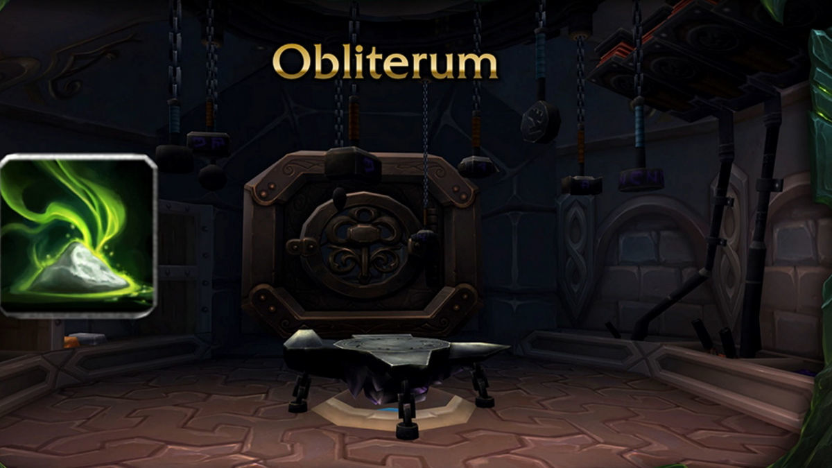 Crafted Gear That Can Make Obliterum