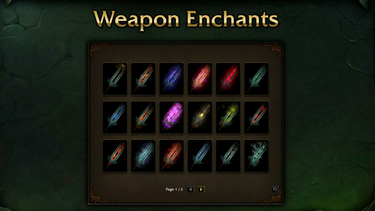 slot enchantment