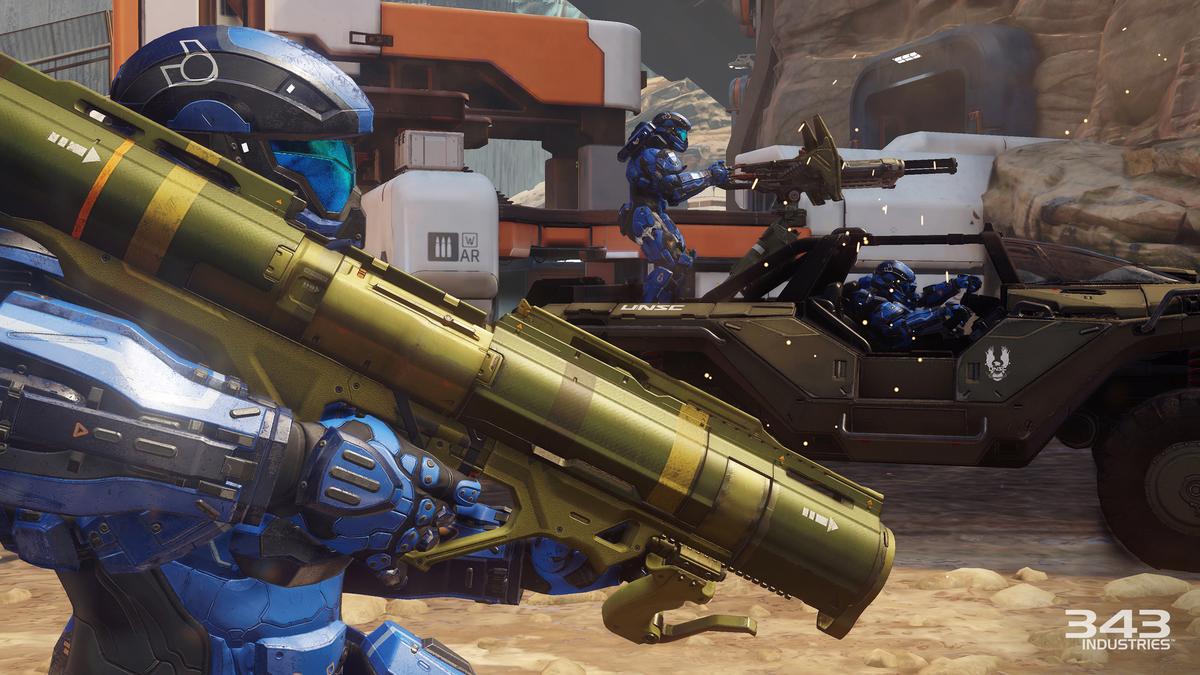 Ten Ton Hammer | Customizing Your Spartan in Halo 5 Multiplayer