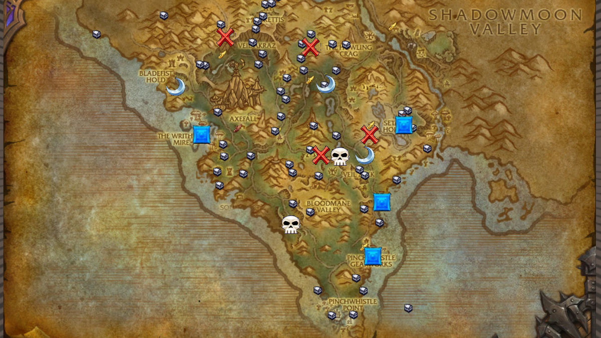 Ten Ton Hammer | Draenor Safari Achievement Guide Draenor Map on duskwood map, wow kalimdor map, frostfire ridge map, world of warcraft world map, wow zeppelin map, ghostlands map, dalaran map, khaz modan map, silver moon city world map, tanaan jungle map, warcraft zone map,