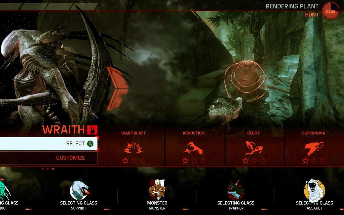 wraith evolve. abilities wraith evolve