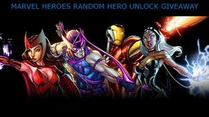 Marvel heroes unlock giveaway