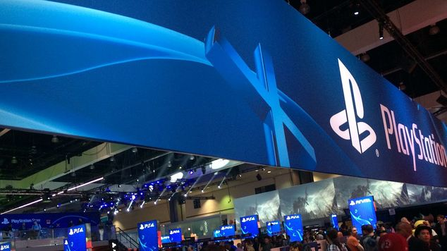 E3 playstation booth