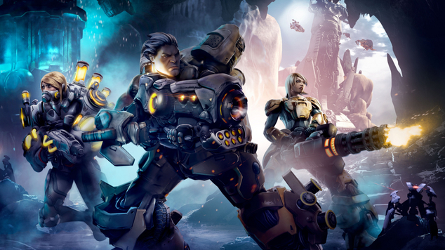 Firefall battleframe overview