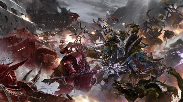 Warhammer 40k impressions