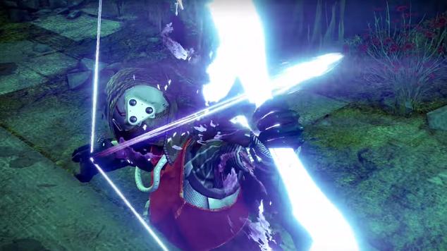 Hunter void bow