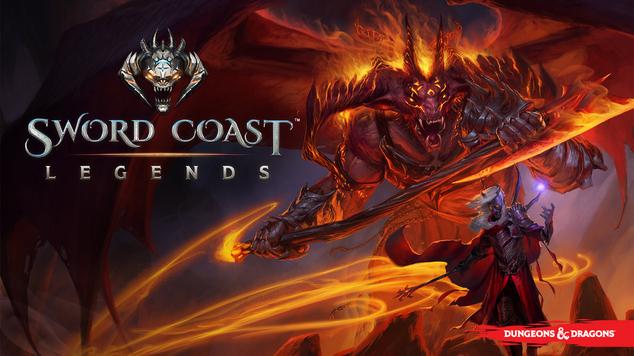 Sword coast legends key art