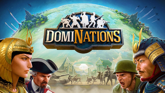 Dominations logo splash 0