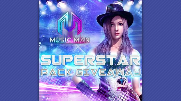 Music man giveaway top