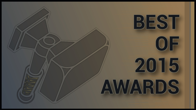 Best of 2015 awards header