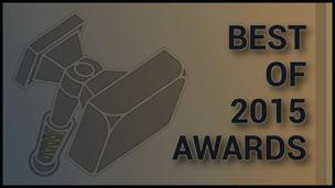 Best of 2015 awards header