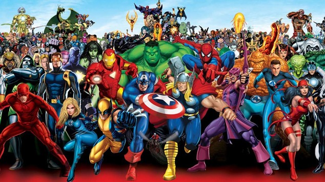 Marvel comic book roster