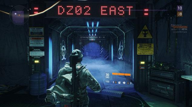 Division dark zone door