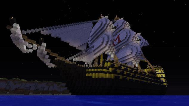 Pirate minecraft