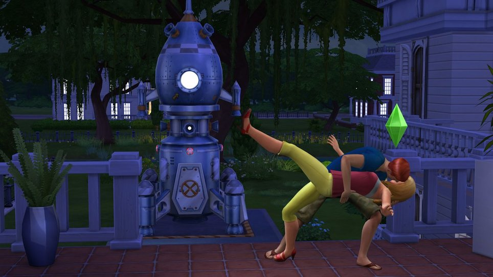 Ts4 kiss screenshot