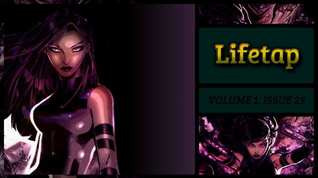 Lifetap volume 1 issue 25