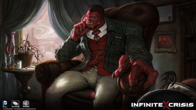 Infinite crisis hero