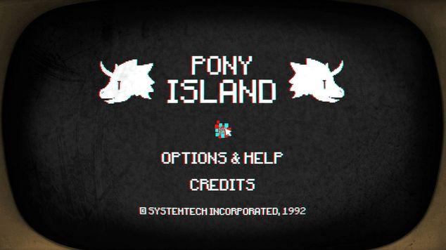 Pony island hero