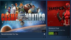 Steam sale hero