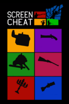 Screencheat game box art