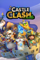 Castle clash game box art