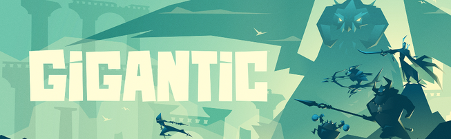 Gigantic game logo