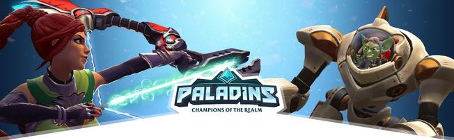 Paladins game logo