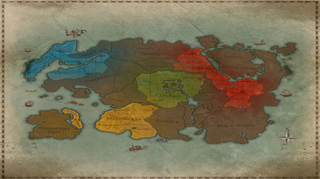 Eso map