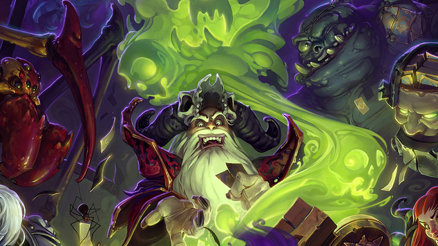 Hearthstone hero images 8