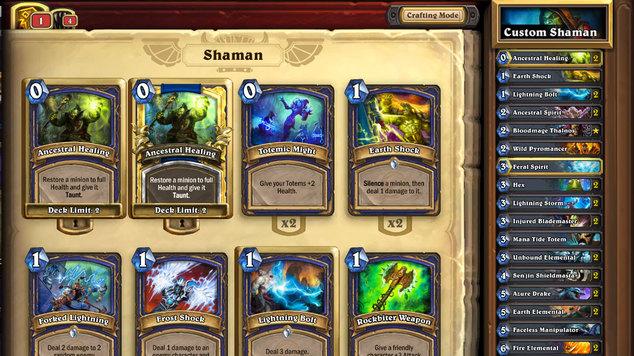 Shaman deck week 8