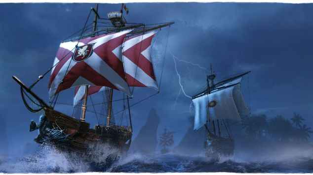 Archeage naval battle