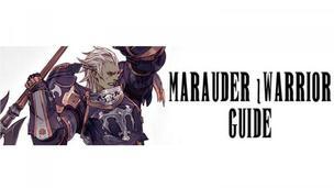 Ffxiv marauder warrior guide