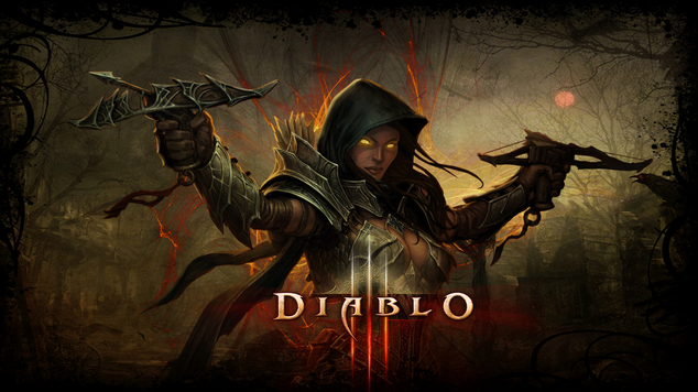 Demon Hunter Diablo 3 Wallpaper 1920X1080