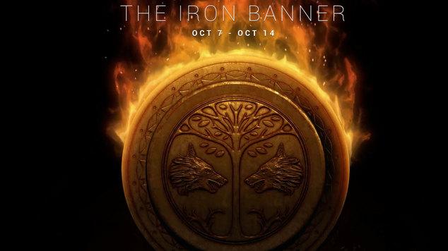 Iron banner banner