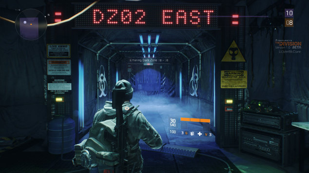 Division dark zone door 1