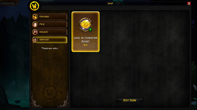 Level 110 Character Boost - Blizzard Support