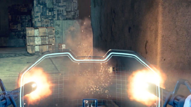 Destiny turret cockpit