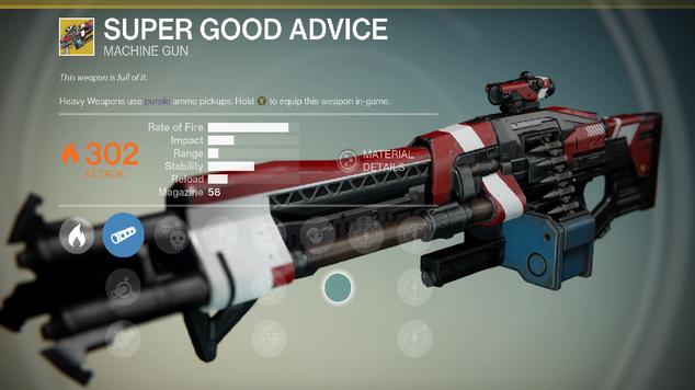 Super good advice destiny