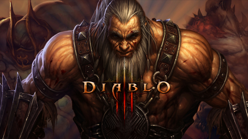 Diablo 3 Barbarian Immortal King Set
