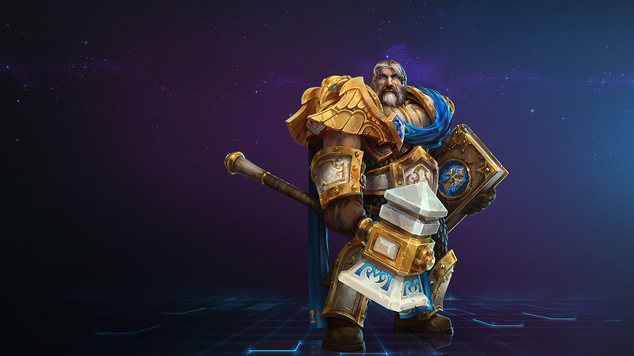 Hots Uther Build