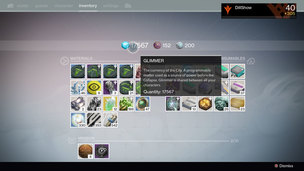 Destiny glimmer farm