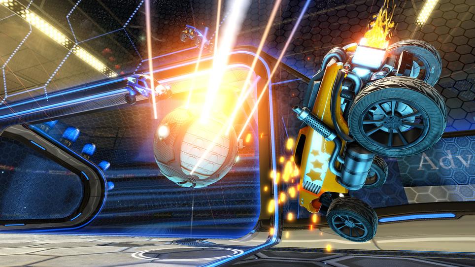 Rocket league merc goal