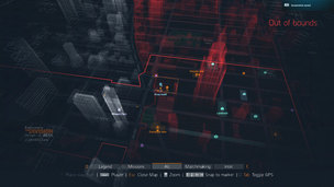 Division dark zone map
