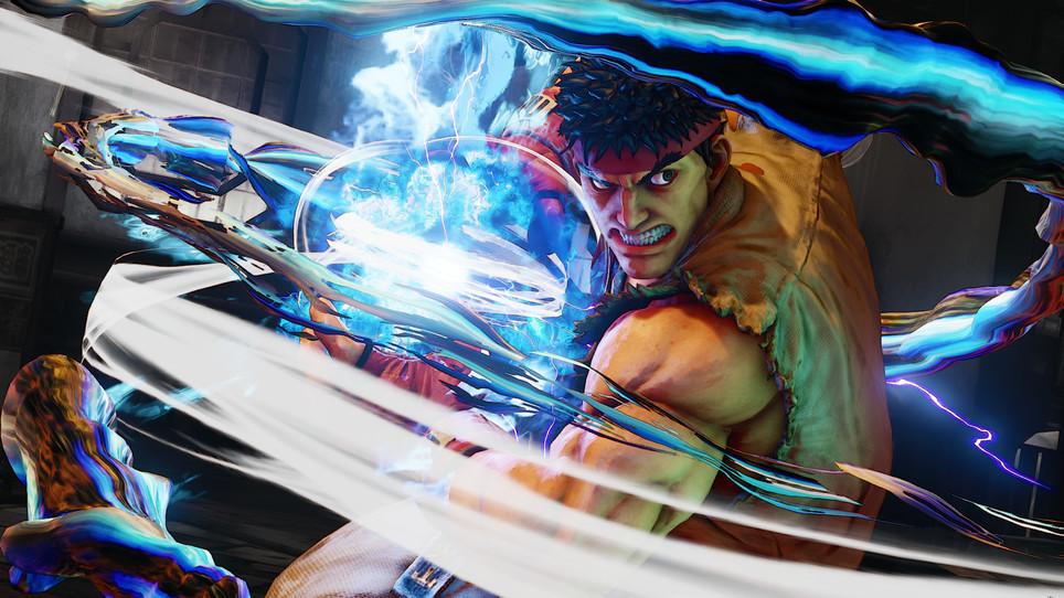 Ryu flame shot