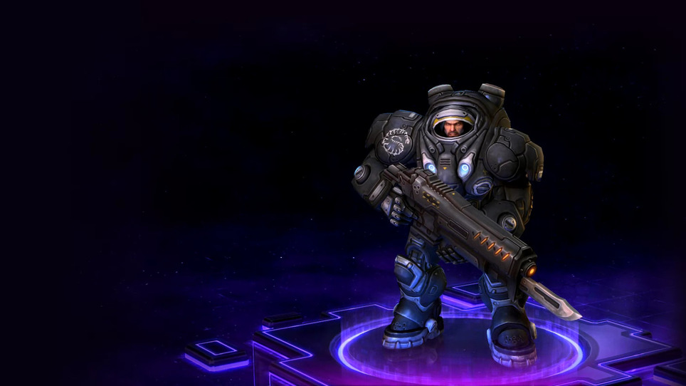 Heroes raynor renegade commander base skin